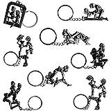 Porte-clés positions kamasutra - Porte clefs métal coquin pour adulte