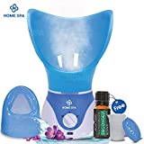 Dr. Trust Home Spa Facial Steamer and Vaporiser (Blue)