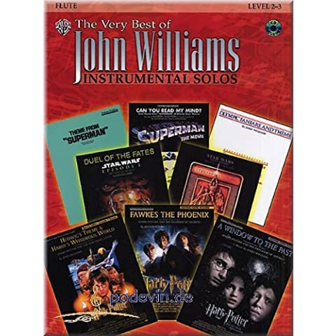 The Very Best of John Williams – Instrumental Solos Flute – Spartiti per flauto