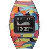 Nixon Unisex-Armbanduhr Lowdown II Digital Quarz Plastik A2891988-00