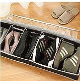 Terilizi Faltbare Verstellbare Schuhbox Mit Zipper Vision Partition Aufbewahrungsbox Für Stiefel