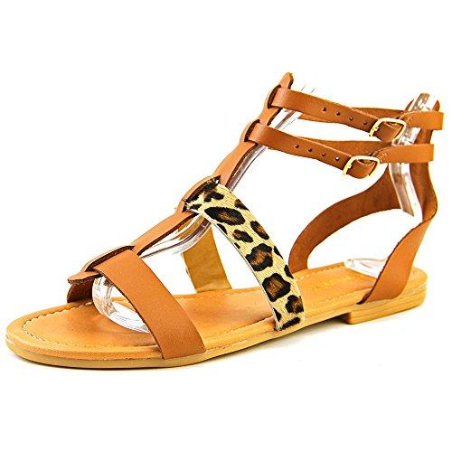 nine-west-bocce-femmes-us-7-brun-sandales-gladiateur