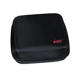 pour canon selphy cp1200 imprimante photo couleur sans fil de voyage en eva housse de protection. Black Bedroom Furniture Sets. Home Design Ideas
