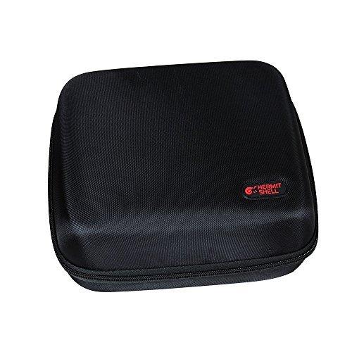 Galleria fotografica Hermitshell - Borsa da trasporto semirigida in plastica EVA per stampante fotografica a colori wireless Canon Selphy CP1200