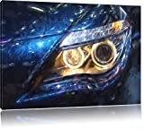BMW Angelo effetto pennello occhi, Formato: 80x60 su tela, XXL enormi immagini completamente Pagina con la barella, stampa d'arte sul murale con telaio, più economico di pittura o un dipinto a olio, non un manifesto o un banner,