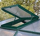 SMART Dachfenster für RION-Gewächshauser aus der SMART-Serie