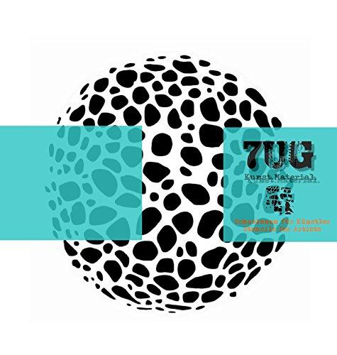 Designer Schablone, Motiv Organic, Gestein, 7UG-022, Texturen für Künstler -