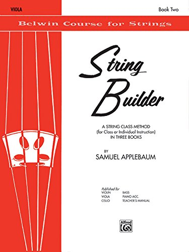 String Builder, Bk 2: Viola (Belwin Course for Strings) por Samuel Applebaum