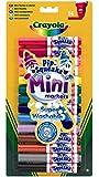 Crayola 8343 Loisir Créatif 14 Mini Feutres à Colorier