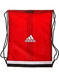 adidas Tiro GB - Bolsa de deporte unisex, color rojo / blanco, talla NS