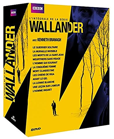 Coffret wallander, saisons 1 à 4
