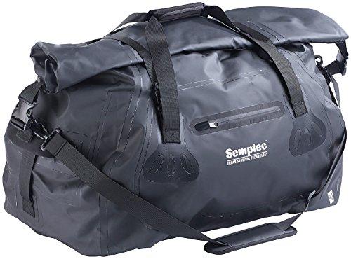 Semptec Urban Survival Technology Tasche LKW Plane: wasserdichte XL-Profi-Outdoor- und Reisetasche aus LKW-Plane, 90 Liter (wasserdichte Packsäcke)