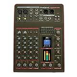 Phonic CELEUS 200 Analog-Mixer mit USB-Rekorder und Bluetooth