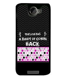 PrintVisa Designer Back Case Cover for One Plus X (true love always comes back)