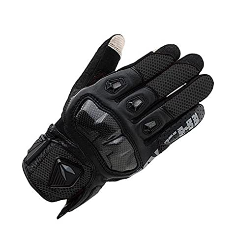 Claw monster motocross riding gloves Fur and Leather cavalier / outside motorcycle bike gloves , black ,
