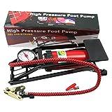 One Pearl Air Pressure Foot Pump Air Pump For Bike, Car , Motorcycle ,Balls, etc