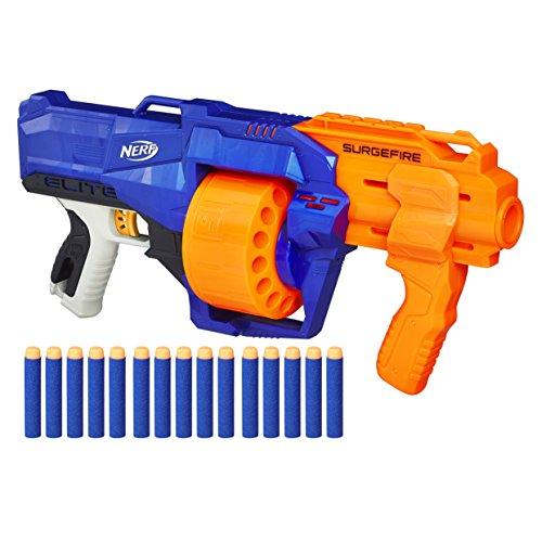Hasbro E0011EU4 - N-Strike Elite Surgefire Spielzeugblaster, mit Trommelmagazin - 2