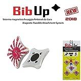 BIBUP 3.0–-5pares sistema Magentico montaje pettorali de competición