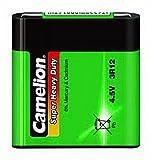 Flachbatterie CAMELION Super Heavy Duty 4,5 V, Typ 3R12, 1er Pack