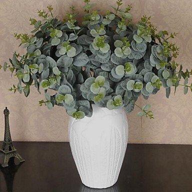 1 branche d'autres fleurs en plastique Table Eucalyptus Fleurs artificielles