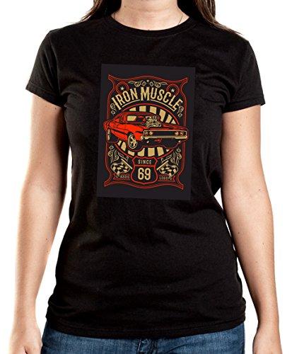 Certified Freak Iron Muscle T-Shirt Girls Black XXL -