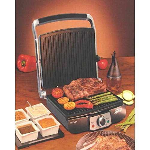 Palson Plus Health Grill 180 Degree Griddle with Removable Plates and Adjustable Temperature – 2000W – Free 2 Year Warranty