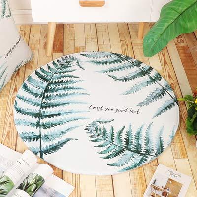 dfhfdh Teppich Hängekorb Matte Einfacher Couchtisch Zimmer Schlafzimmerdecke Berlin Blattdurchmesser 80Cm