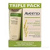 Aveeno Daily Moisturising Triple Pack, 200 ml