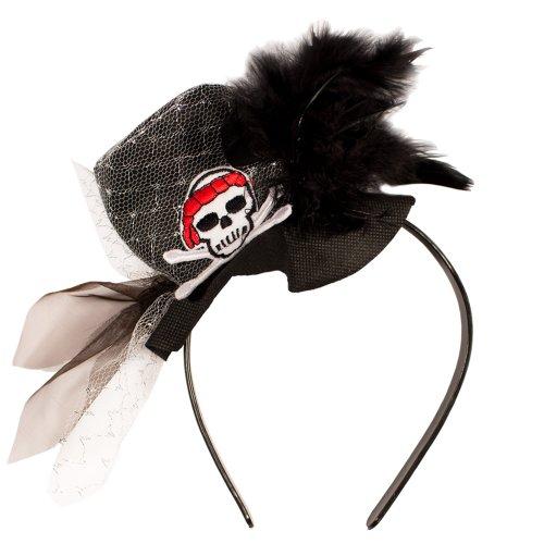 Tiara / Kopfschmuck für Piraten Mädchen // Piraten Piratenmädchen Fasching Verkleidung Verkleiden Karneval Kostüm Kostüme Mädchenkostüm (Mädchen Erwachsene Kostüme Piraten)