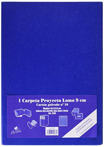 Mariola 22091 - Caja proyectos armada cartón gomas