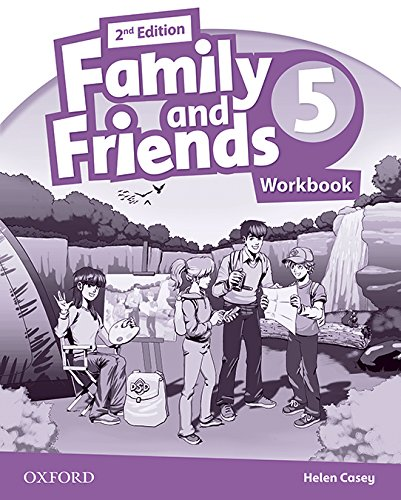 Family and Friends 2nd Edition 5. Activity Book Literacy Power Pack 2018 (Family & Friends Second Edition)