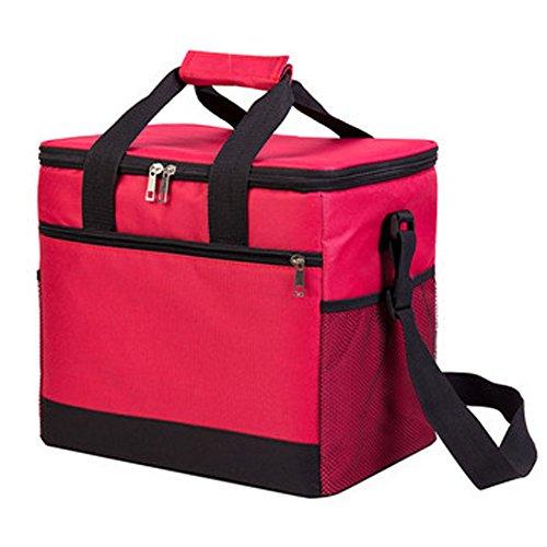 PANDA SUPERSTORE Picknick-Tasche im Freien 20L großer weicher kühler Isolierpicknick-Mittagessen-Tasche für den Lebensmittelgeschäft, kampierend, Auto, - Iglu Kühler Tasche Mittagessen