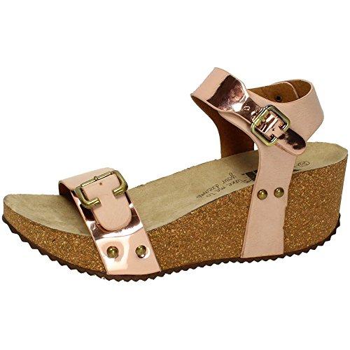 XTI , sandales femme Nude