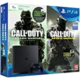 PlayStation 4 Slim (PS4) 1TB - Consola + Call Of Duty: Infinite Warfare + Call Of Duty: Modern Warfare Remasterizado