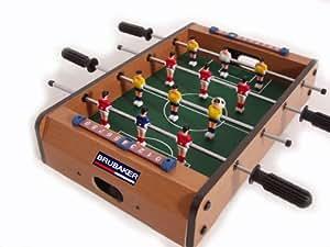 Mini calciobalilla biliardino calcetto da tavolo 51 cm x - Calcio balilla tavolo ...