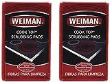 Weiman Cook Top Scrubbing Pads, 3 ct-2 pk