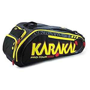 Karakal Pro Tour Comp 9 Racket Bag Review 2018