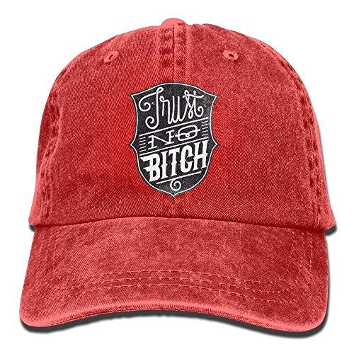 Preisvergleich Produktbild QIOOJ Cowboy Hat Cap for Men Women Trust No Bitch Insignia