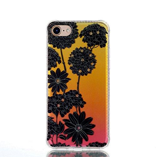 ZeWoo TPU Schutzhülle - YT05 / Secret Garden - für Apple iPhone 7 (4,7 Zoll) Silikon Hülle Case Cover YT02