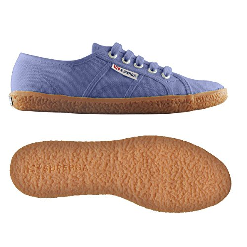Superga 2750 NAKED COTU - Sneakers basses femme Blue Velvet