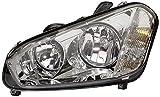 HELLA 1LJ 009 587-641 Halogen Hauptscheinwerfer, Rechts, Ohne Kurvenlicht, mit Glühlampen, mit Stellmotor für LWR