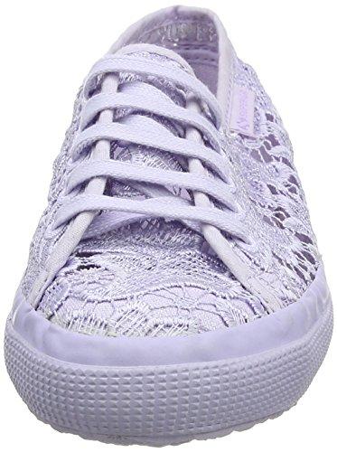 Superga Unisex-Kinder 2750 Macramej Sneaker Purple (total Violet Lilac)