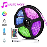 5M Tira LED RGB,Hangrui LED Strip Lights 300 Leds...