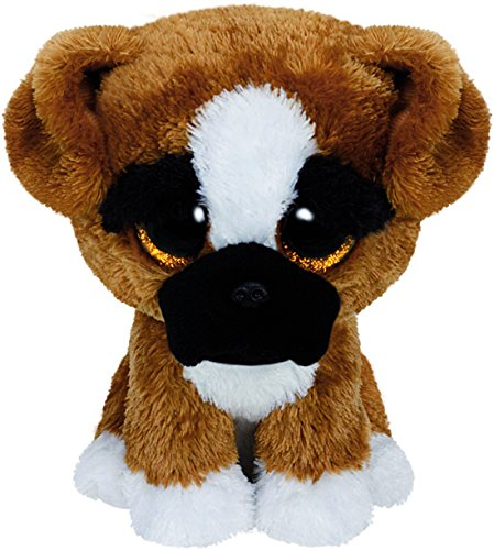 TY - Beanie Boos Brutus, perro boxer, 15 cm (United Labels Ibérica 36188TY)