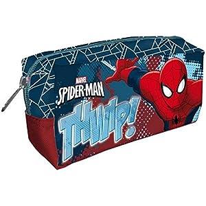 Portatodo Rectangular Spiderman Marvel