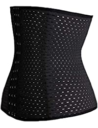 eb3e552c484 EORONA Plus Size XS-5XL Postpartum Maternity Belt Breathable Hollow Corset  Waist Cincher Control Slimming