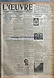 oeuvre l no 4099 du 21 12 1926 40 professeurs americains proposent de reunir une conference internationale pour examiner a nouveau la question des dettes il faut disent ils tenir meilleur compte des efforts de l europe pour l etablissement de