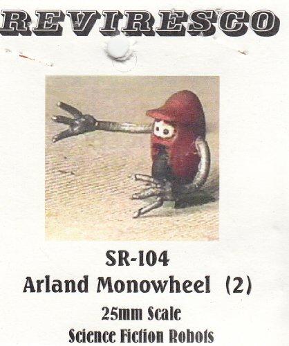 Reviresco SR-104 - Starguard Arland Monowheel - Roboter - 3 Zinnbausätze - 1:72