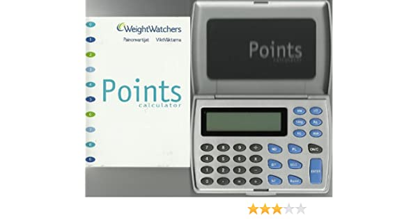 Weight Watchers Calculator Points Rechner Flexpoints Amazon
