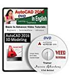 #6: AutoCAD 2016 Advance 2D / 3D Modelling Video Training
